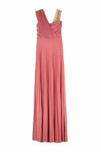 Elisabetta Franchi Celyn B. Lurex Jersey Long Dress