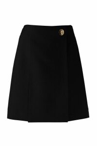 Givenchy Wool Wrap Skirt