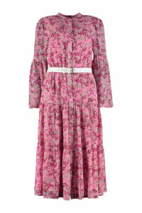 Michael Kors Floral Chiffon Dress