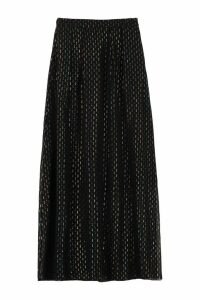 LAutre Chose Embroidered Silk Skirt