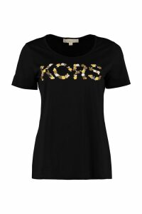 Michael Kors Embroidered Cotton T-shirt