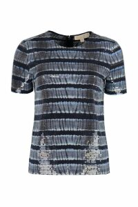 Michael Kors T-shirt With Transparent Sequins