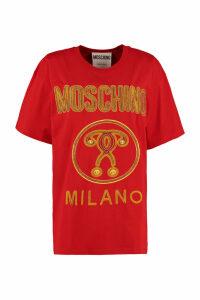 Moschino Oversize Cotton T-shirt