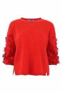 Valentino Embellished Pullover