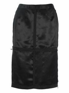 Mm6 Mm6 Zip Panelled Pencil Skirt