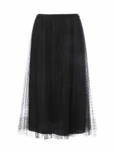 RED Valentino Soft Point Plisse Tulle