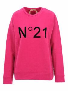 N21 Logo Print Sweatshirt