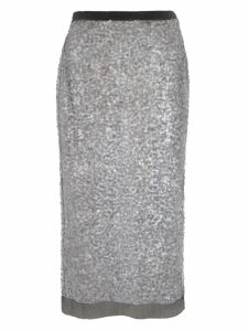 Miu Miu Miu Miu Sequined Pencil Skirt