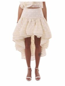 Marc Jacobs Ivory Layered Skirt