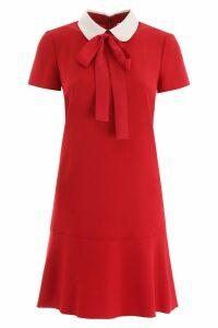 RED Valentino Mini Dress With Collar