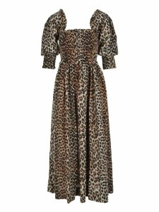 Ganni Cotton Silk Maxi Dress
