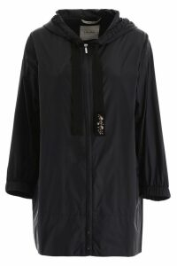 S Max Mara Here is The Cube Taffeta Short Raincoat