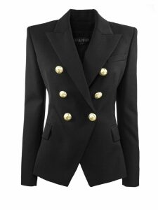 Balmain Black Wool Blazer