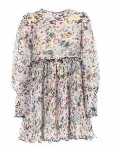 Ganni Dress L/s W/flowers