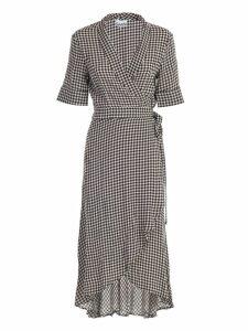 Ganni Dress L/s Check