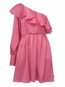 One-shoulder Dress Msgm