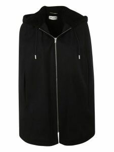 Saint Laurent Zip-up Cape