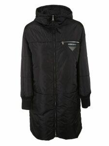 Prada Woven Down Jacket