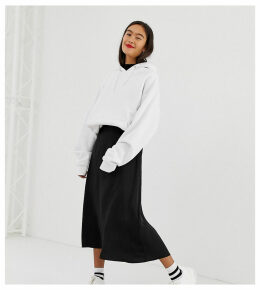 New Look midi skirt in satin