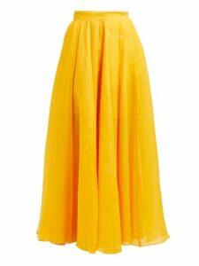 Three Graces London - Arlene Ramie Skirt - Womens - Yellow
