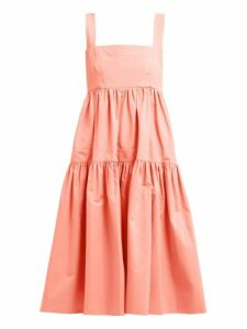 Three Graces London - Cosette Cotton Dress - Womens - Pink
