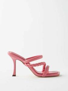 Loup Charmant - Gathered Organic Cotton Dress - Womens - Green
