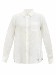 Loup Charmant - Falco Tiered Cotton Voile Skirt - Womens - Green