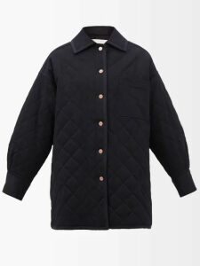 Muzungu Sisters - Frangipani Poppy Print Silk Faille Maxi Dress - Womens - Orange Multi