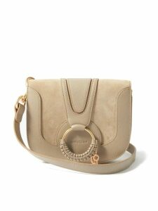 Adriana Degreas - Bacio One Shoulder Linen Blend Midi Dress - Womens - Red