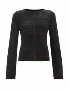 Zimmermann - Honour Floral Print Pintucked Cotton Poplin Dress - Womens - Cream