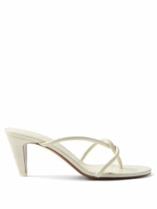 Le Sirenuse, Positano - Callisat Fish Tail Print Cotton Dress - Womens - Blue Multi