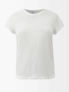 Le Sirenuse, Positano - Jane Abstract Print Cotton Poplin Skirt - Womens - Pink Multi