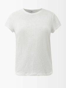 Le Sirenuse, Positano - Jane Abstract Print Cotton Poplin Skirt - Womens - Pink Multi