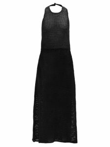 Loup Charmant - Falco Jacquard Stripe Cotton Midi Skirt - Womens - White