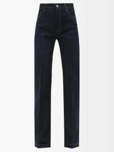 Belize - Lila Buttoned Side Linen Midi Dress - Womens - Brown