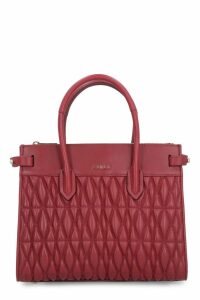 Furla Pin Cometa Quilted Leather Handbag