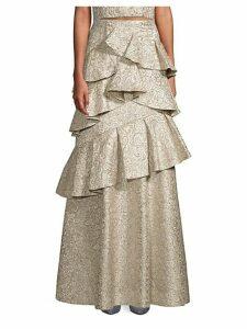 Flossie Tiered Ruffle Skirt
