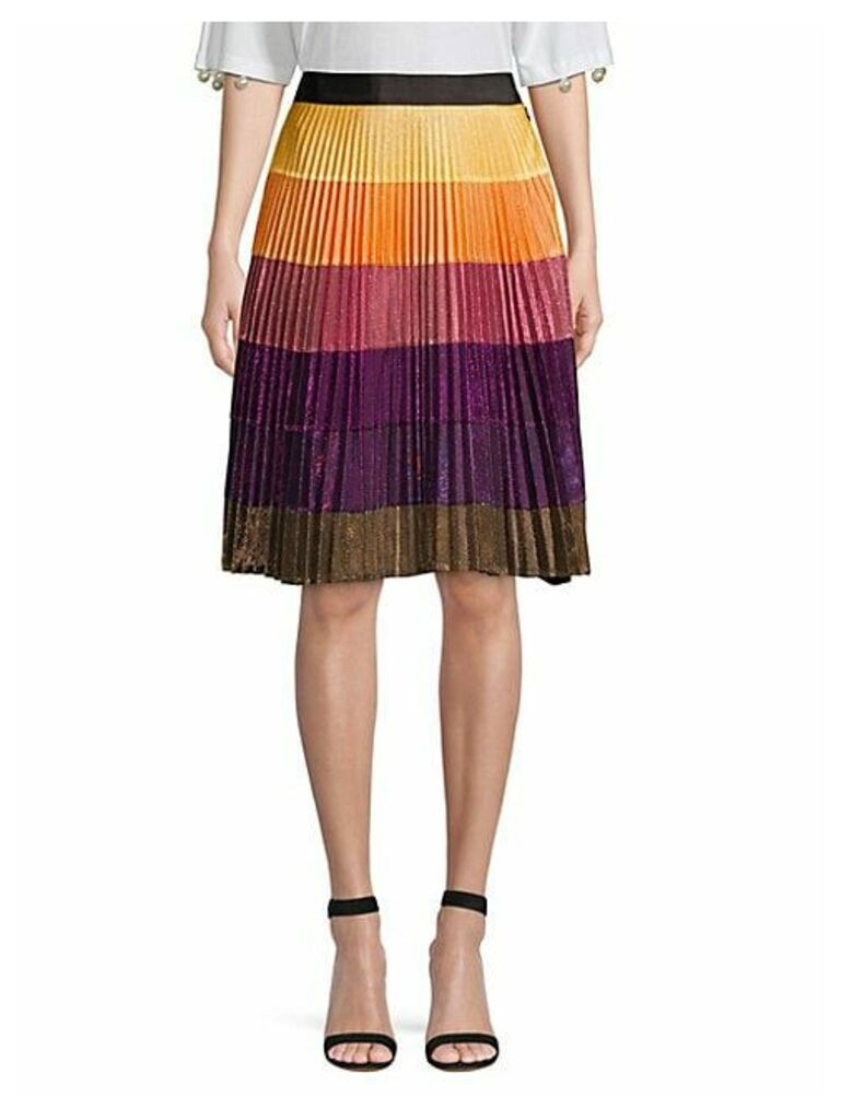 Cosmic Disco Pleated Skirt