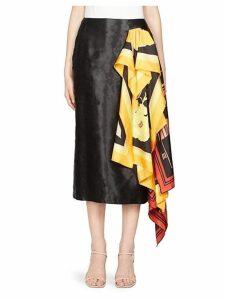 Scarf Wrap Skirt
