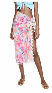 Kos Resort Tie Dye Beach Wrap