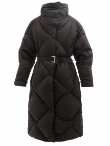 Biyan - Athea Hibiscus Print Silk Dress - Womens - Blue Multi