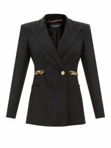 Dolce & Gabbana - Shirred Lilium Print Silk Blend Chiffon Gown - Womens - Pink Multi