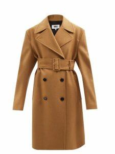 Connolly - Leopard Print Cotton Midi Dress - Womens - Green Multi