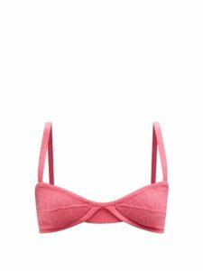 Marni - Clematis Print Poplin Skirt - Womens - Pink Multi