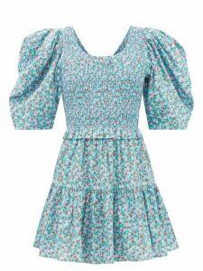Balenciaga - Rainbow Stripe Print Cotton T Shirt - Womens - Multi