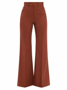 Balenciaga - Crew Neck Rib Knitted Sweater - Womens - Pink