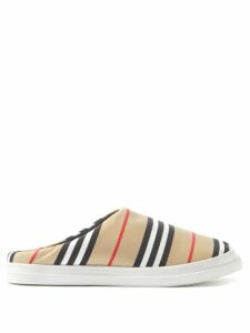 Balenciaga - Bb Logo Print Cotton T Shirt - Womens - Red