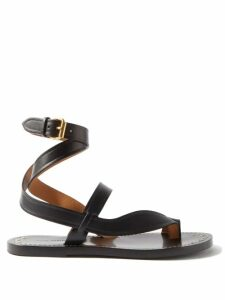 Redvalentino - Heart Print Chiffon Dress - Womens - Black Multi