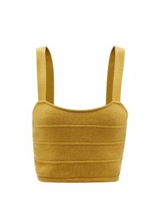 No. 21 - Dropped Hem Coated Silk Mini Dress - Womens - Burgundy