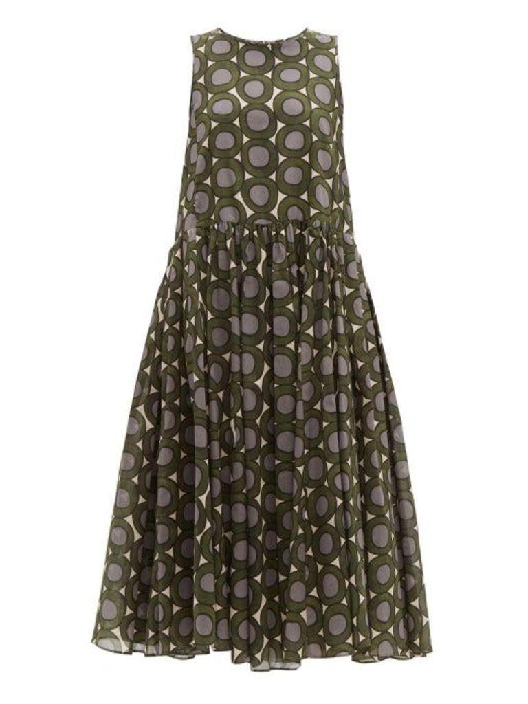 S Max Mara - Murano Dress - Womens - Green Multi